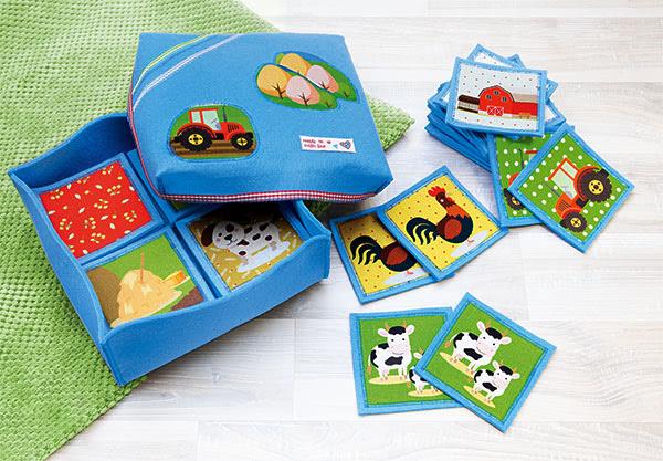 Kinderspielzeug nähen buttinette Blog