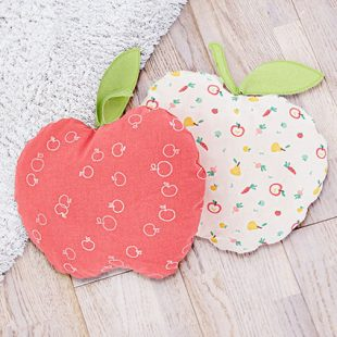 Kleines Apfelkissen nähen