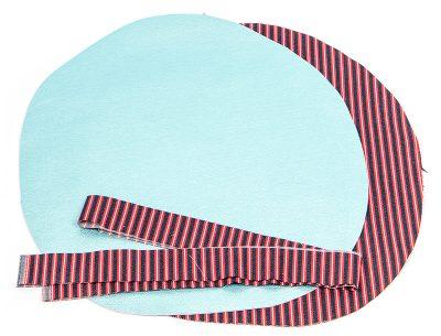 Tasche mit Lochmuster und Nappaleder - Schritt 1