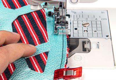 Tasche mit Lochmuster und Nappaleder - Schritt 10