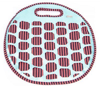 Tasche mit Lochmuster und Nappaleder - Schritt 13