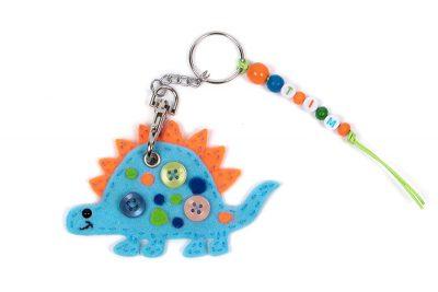 Schlüsselanhänger-Dino nähen - Schritt 11