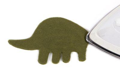 Schlüsselanhänger-Dino nähen - Schritt 12