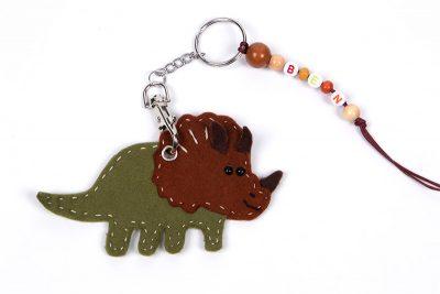 Schlüsselanhänger-Dino nähen - Schritt 16