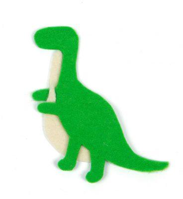 Schlüsselanhänger-Dino nähen - Schritt 18