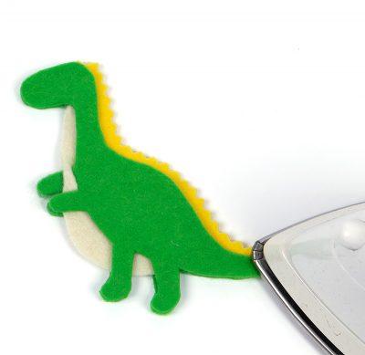 Schlüsselanhänger-Dino nähen - Schritt 19