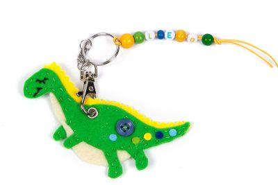 Schlüsselanhänger-Dino nähen - Schritt 20