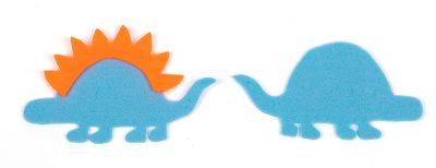Schlüsselanhänger-Dino nähen - Schritt 4