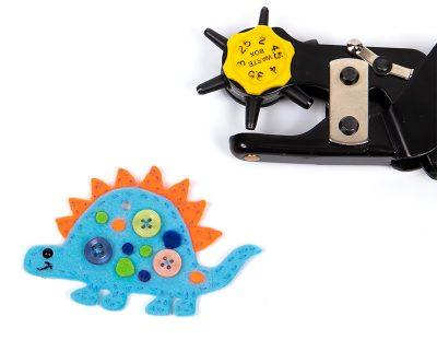 Schlüsselanhänger-Dino nähen - Schritt 8