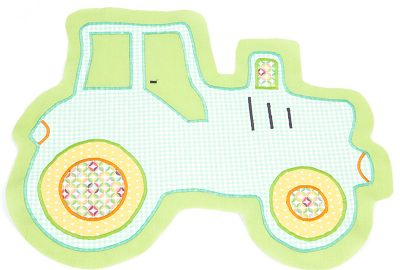 Traktorkissen nähen - Schritt 6