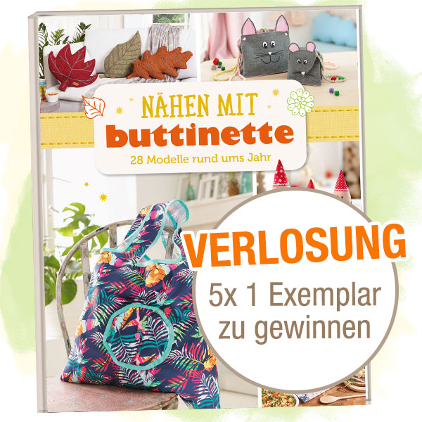 buttinette Nähbuch - Cover