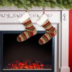 Nikolaus-Socke stricken