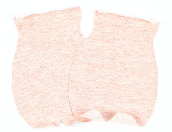 Glücksschweinchen nähen - Schritt 1