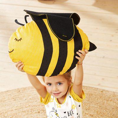 Bienenkissen nähen