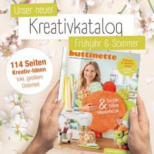 buttinette Kreativkatalog Frühjahr & Sommer 2020