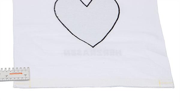 Kissenbezug Herzrasen nähen - Schritt 7