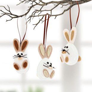 Decorate A Bunny Template Basteln Ideen Ostern 6