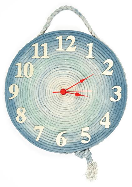 Maritime Uhr basteln - Schritt 26