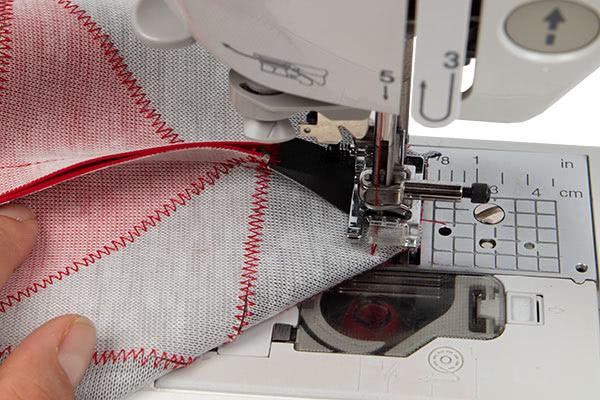 Patchworkttasche aus Leder nähen - Schritt 10