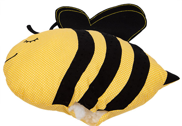 Bienenkissen nähen - Schritt 10