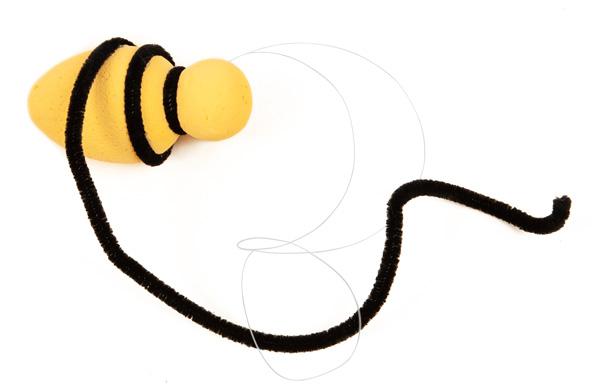 Bienen und Marienkäfer basteln - Schritt 16