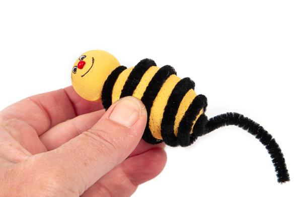Bienen und Marienkäfer basteln - Schritt 17
