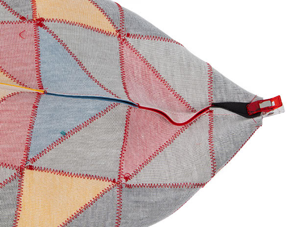 Patchworkttasche aus Leder nähen - Schritt 9