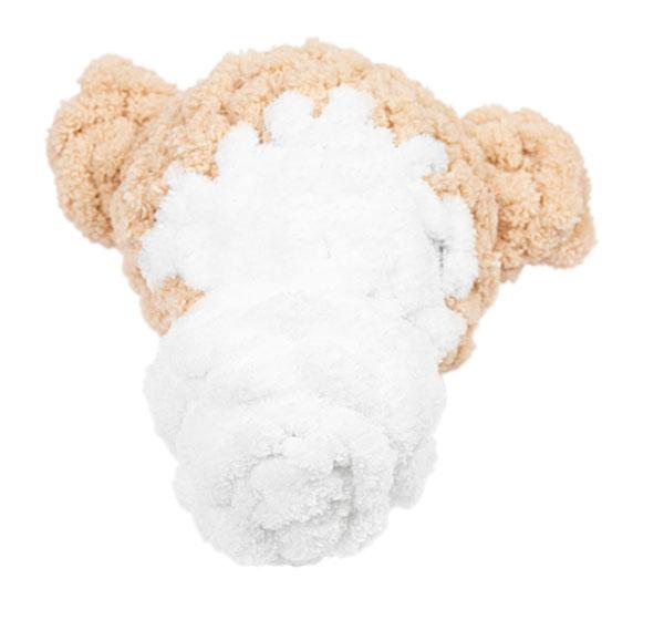 Affe aus Schlaufengarn Woll Butt Puffy stricken - Schritt 4.2