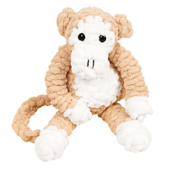 Affe aus Schlaufengarn Woll Butt Puffy stricken - Schritt 9