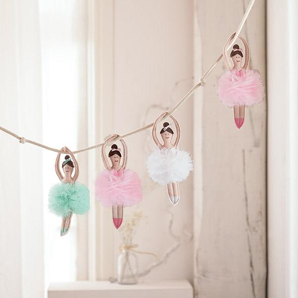 Ballerina-Puppe nähen