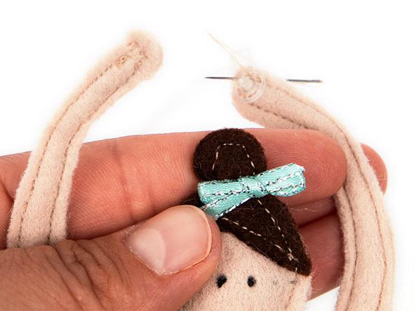 Ballerina Puppe nähen - Schritt 12