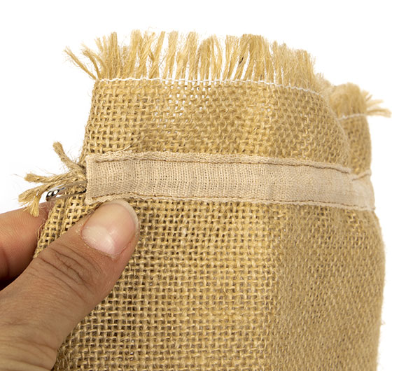 Flaschen Taschen aus Rupfen nähen - Schritt 10