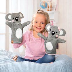"""Handpuppen """"Koalas"""" nähen"""