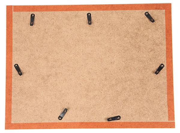 Wandbild aus Bändern weben - Schritt 12