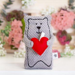 Bär Valentin nähen
