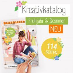 buttinette Kreativkatalog Frühjahr & Sommer 2021