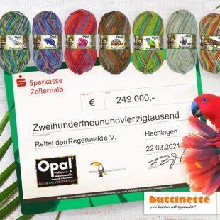 """Aktion """"Rettet den Regenwald"""""""