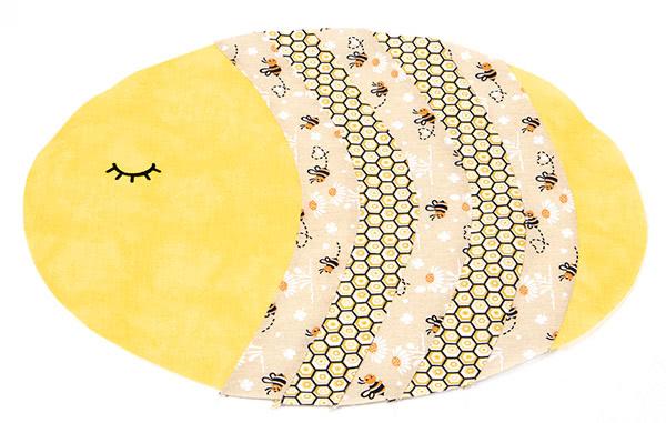 "Tischset ""Biene"" nähen - Schritt 5"