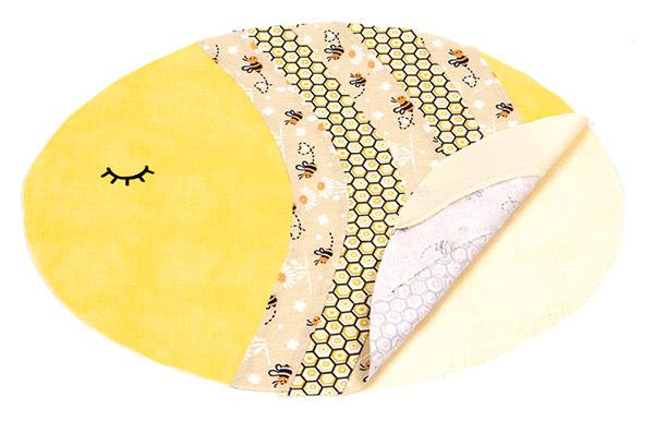 "Tischset ""Biene"" nähen - Schritt 7"
