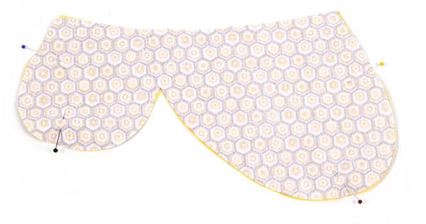 "Tischset ""Biene"" nähen - Schritt 8"