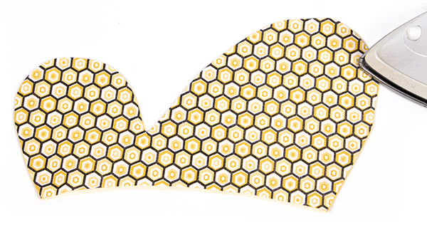 "Tischset ""Biene"" nähen - Schritt 9"