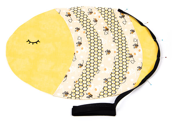 "Tischset ""Biene"" nähen - Schritt 11"
