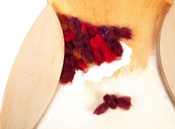 Eulen aus Holz basteln - Schritt 3