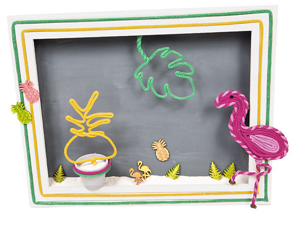 Tropische Figuren aus Strickschlauch - Schritt 11