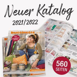 buttinette Kreativkatalo0g 2021/2022